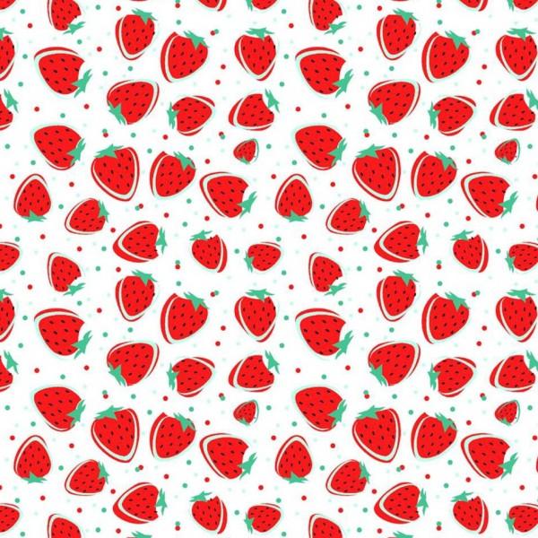Jersey Druck Erdbeeren Artikelnr.:20189-100