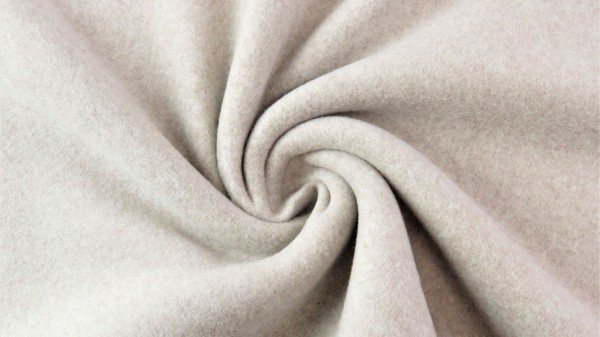 Baumwoll Double Fleece D.Beige