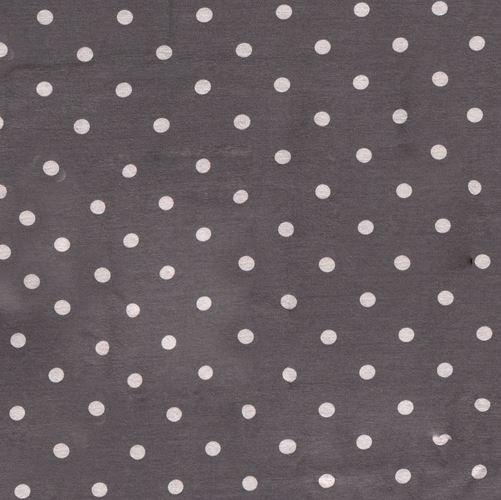 Alpenfleece Punkte Grau