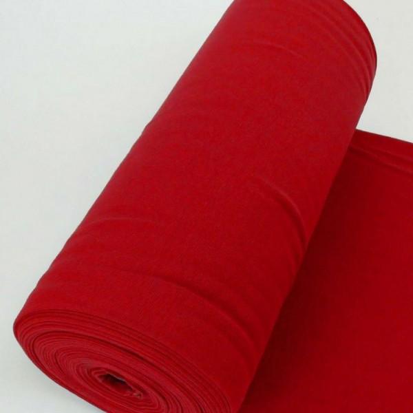 Bündchen Uni Rot Artikelnr.:1191-15