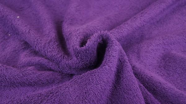 Frottee Uni Violett
