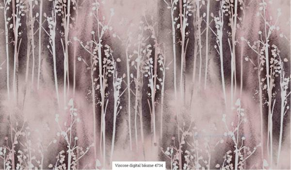 Viscose Digital Bäume Artikelnr.:SL4734-764