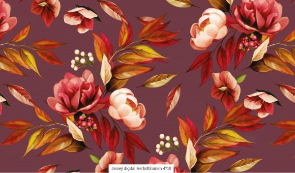 Jersey Digi Herbstblumen Artikelnr.:SL4710-1119