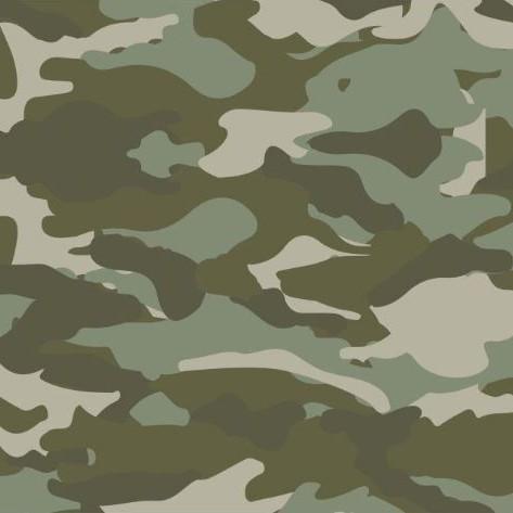 Popeline Druck Camouflage Artikelnr.:SL4902-1121