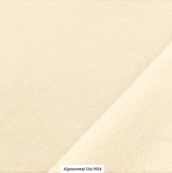 Alpensweat Uni Offwhite Artikelnr.:SL9941-1551