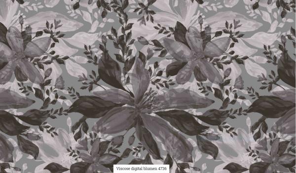 Viscose Digital Blumen Artikelnr.:SL4736-764