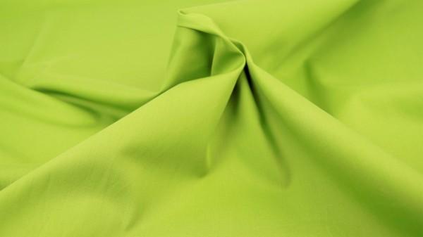 Popeline Uni Limette