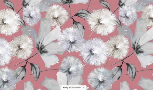 Jersey Digi Wildblumen Artikelnr.:SL4714-1313