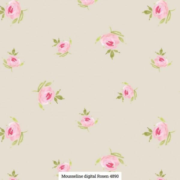 Musselin Digital Rosen Artikelnr.:SL4890-652