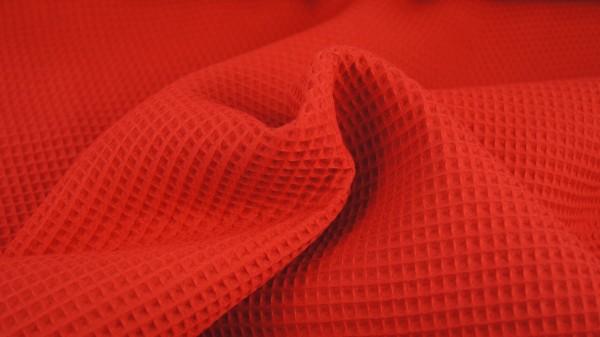 Waffelpique Rot