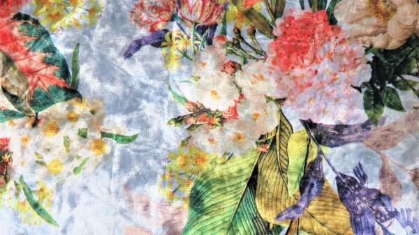 Samt Digital Blume Natur