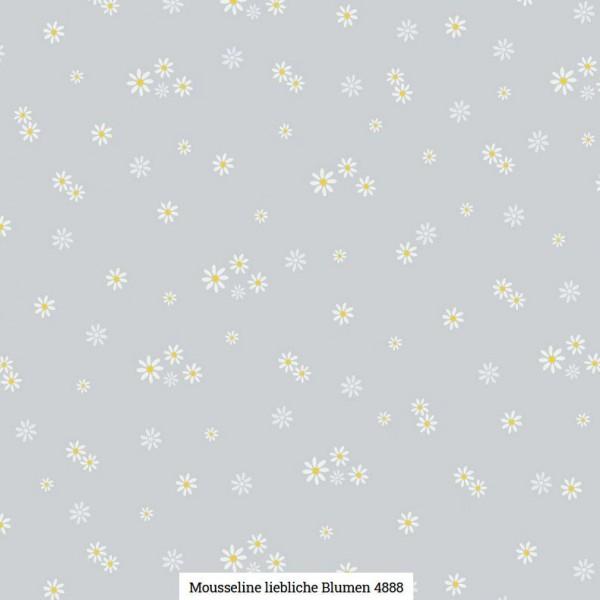 Musselin Druck Blümchen Artikelnr.:SL4888-62